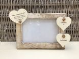 Shabby personalised Chic Photo Frame In Memory Of Grandad ~ Grandfather Any Name - 253965315868
